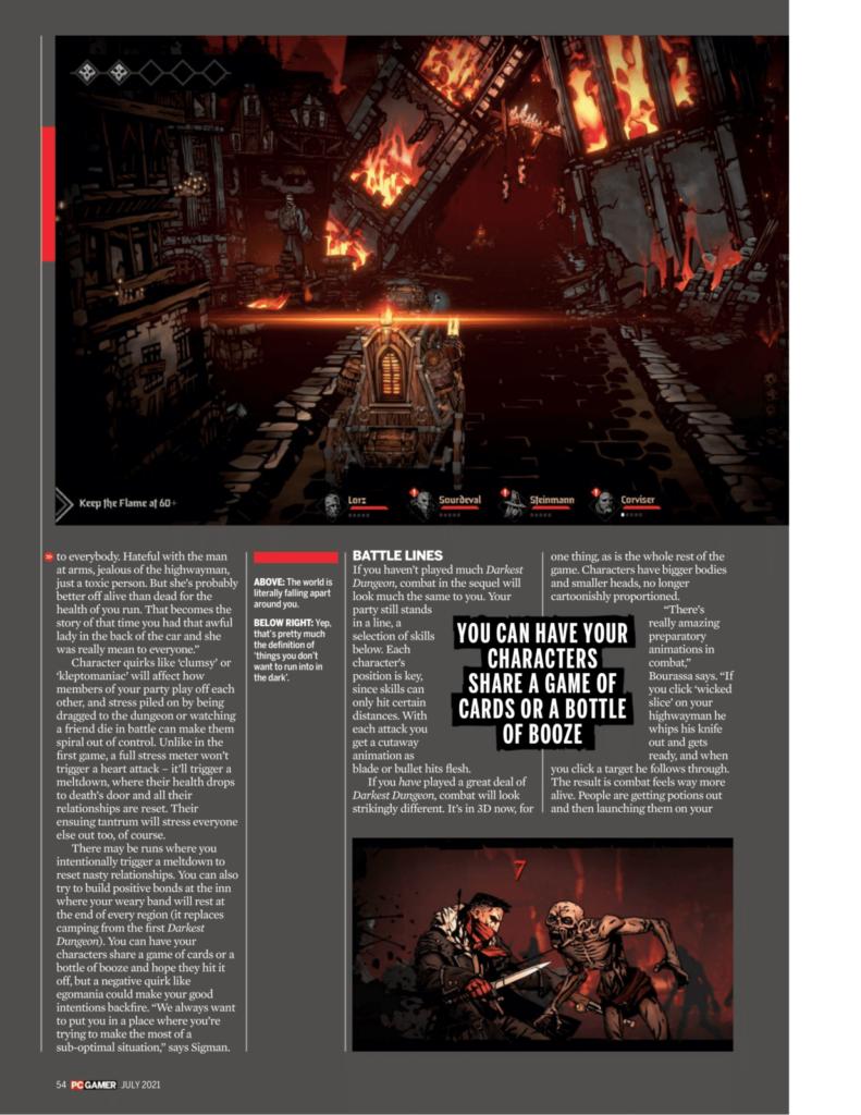 Подробности Darkest Dungeon II из нового номера PC Gamer 4