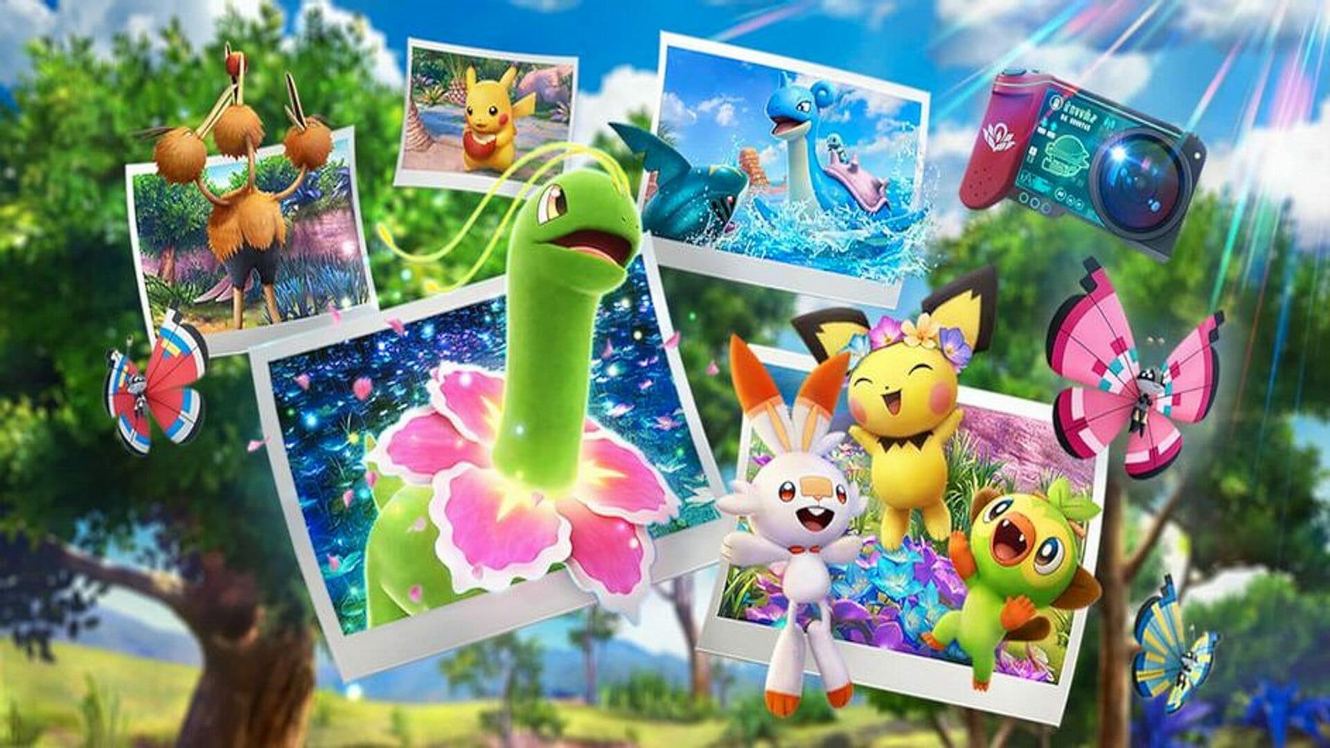 Обзор: New Pokémon Snap - Отправляешься в мой альбом покемонов 14