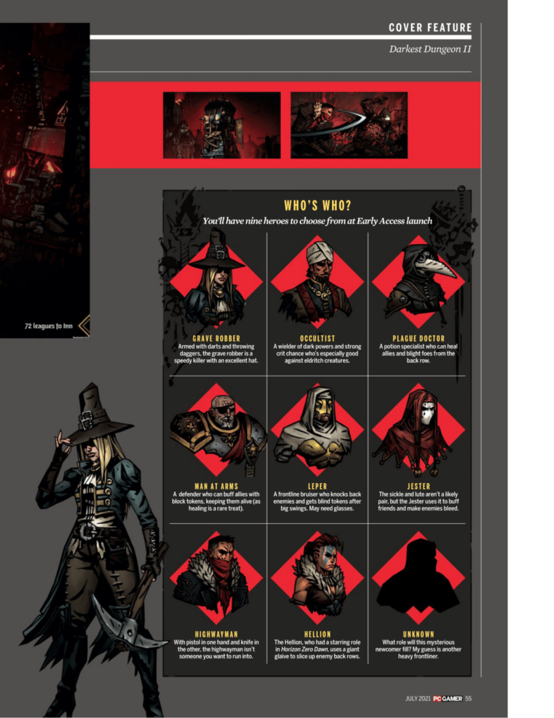 Подробности Darkest Dungeon II из нового номера PC Gamer 5