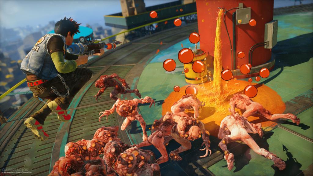 Sunset Overdrive - SIE зарегистрировала товарный знак бывшего эксклюзива Xbox 1