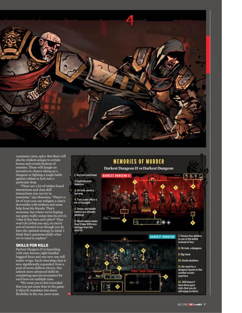 Подробности Darkest Dungeon II из нового номера PC Gamer 7