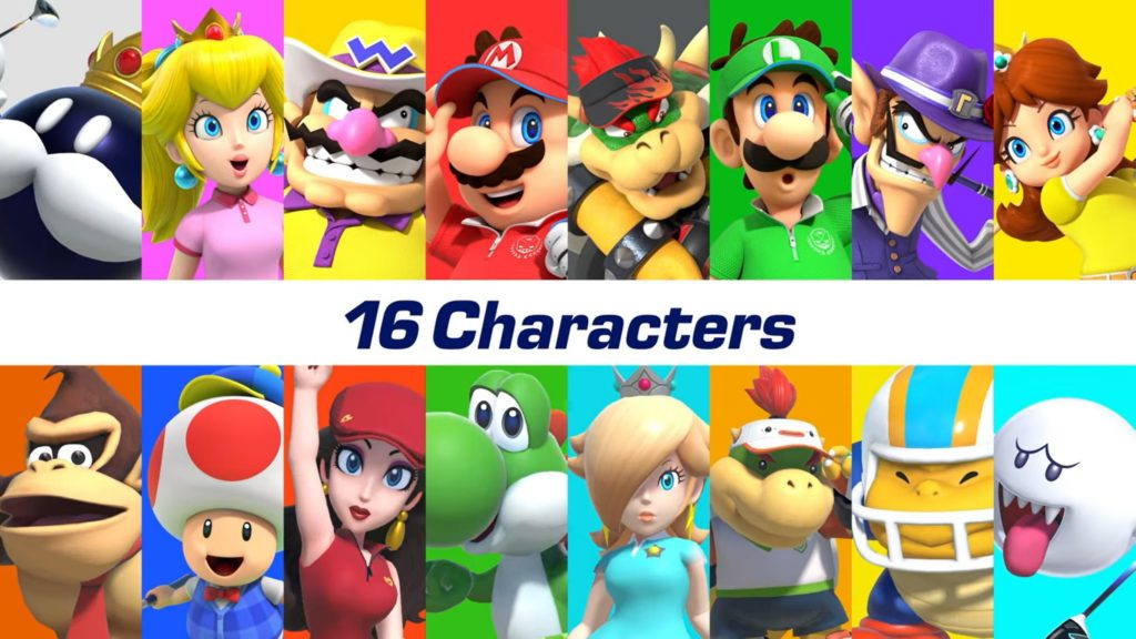 Стали известны играбельные персонажи в Mario Golf: Super Rush 1
