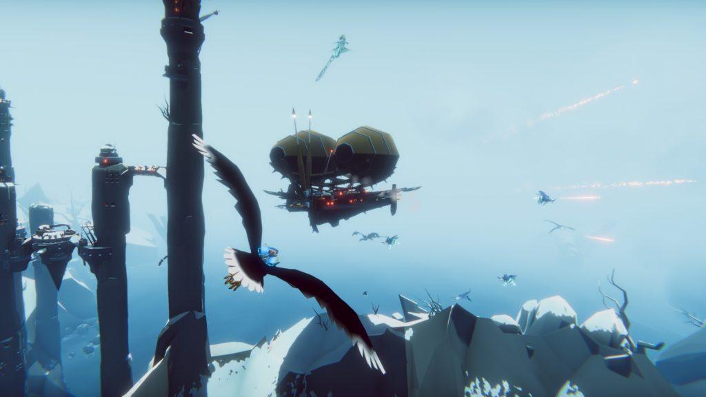 Водный мир, огромные птицы и воздушные баталии - The Falconeer: Warrior Edition выйдет на Nintendo Switch и консолях PlayStation 4