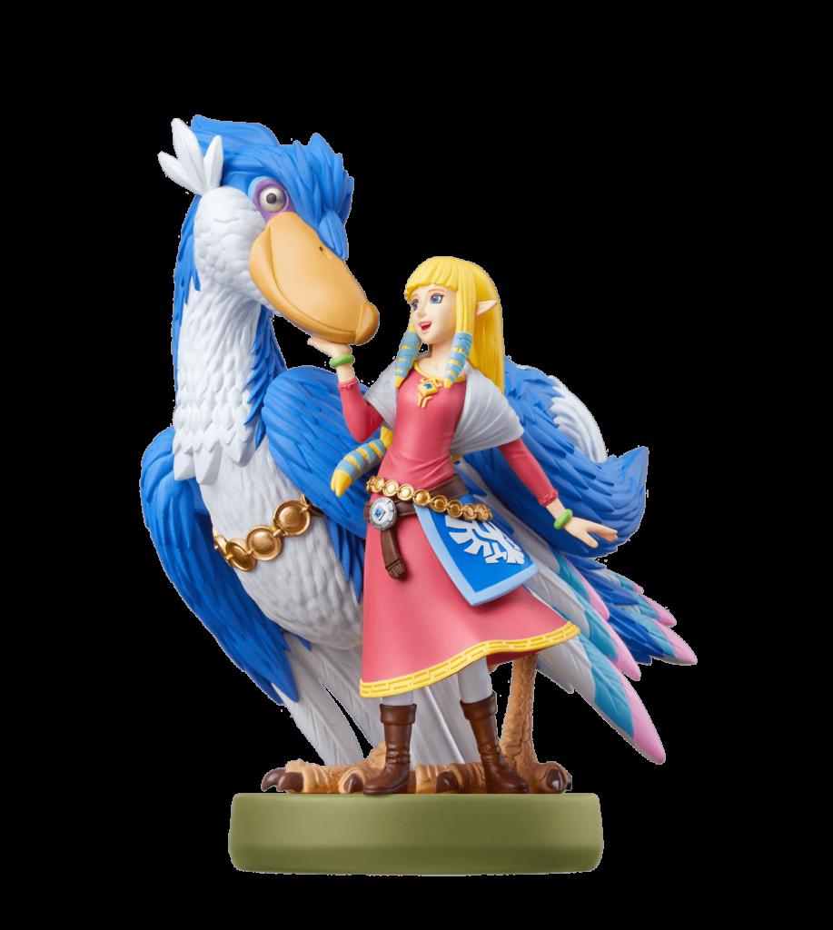 Фигурка amiibo «Зельда и Небокрыл» поступит в продажу вместе с The Legend of Zelda: Skyward Sword HD 2