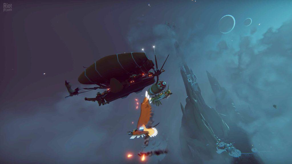 Водный мир, огромные птицы и воздушные баталии - The Falconeer: Warrior Edition выйдет на Nintendo Switch и консолях PlayStation 2