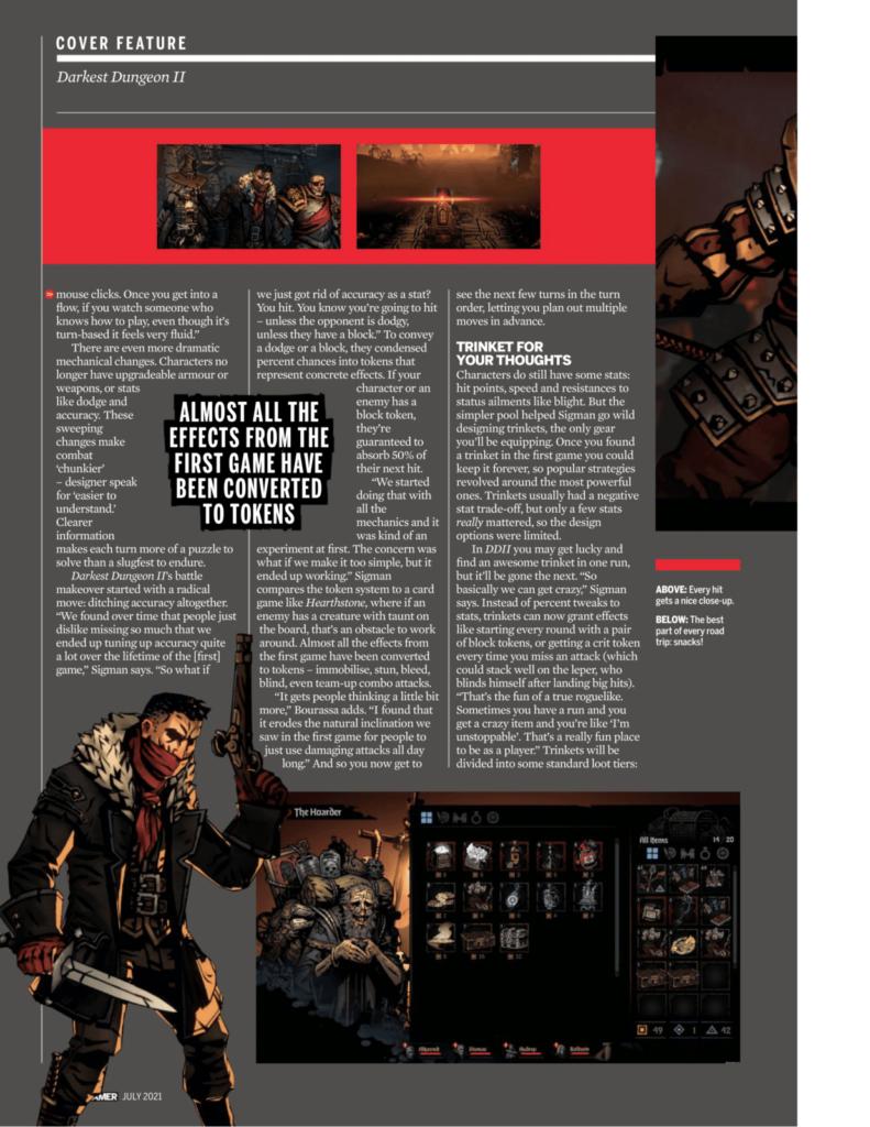 Подробности Darkest Dungeon II из нового номера PC Gamer 6
