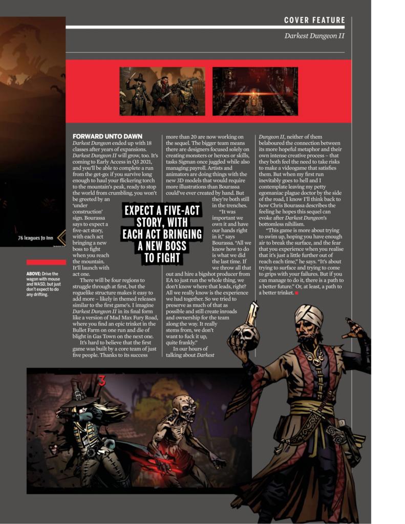 Подробности Darkest Dungeon II из нового номера PC Gamer 9