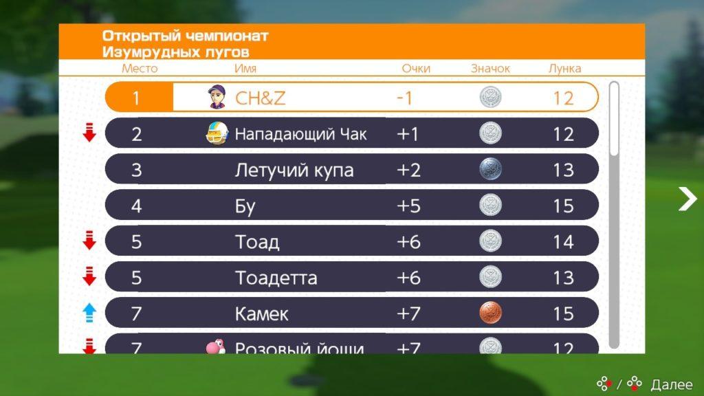Обзор: Mario Golf: Super Rush – Гольф на выбывание 10