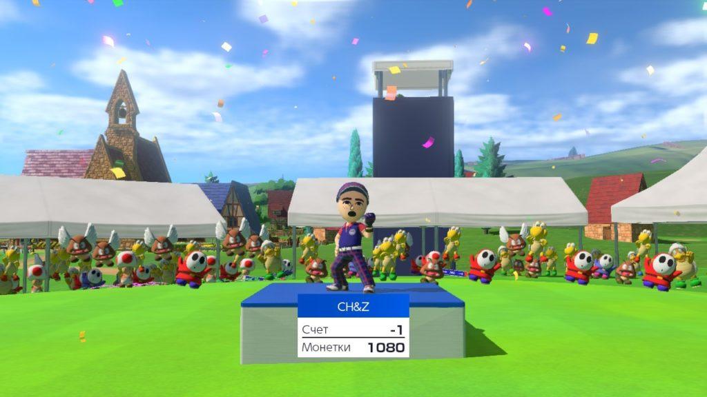 Обзор: Mario Golf: Super Rush – Гольф на выбывание 12