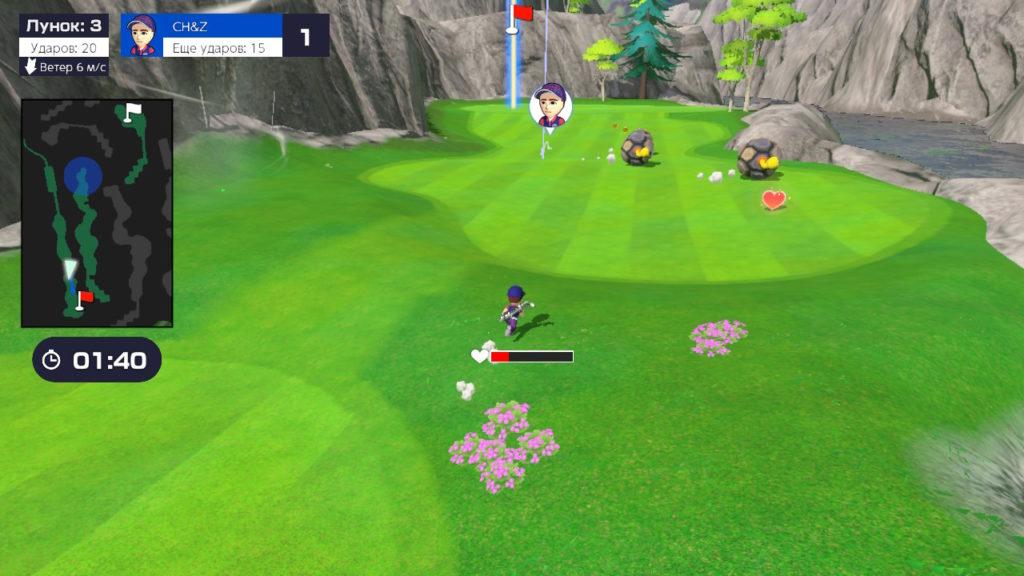 Обзор: Mario Golf: Super Rush – Гольф на выбывание 18