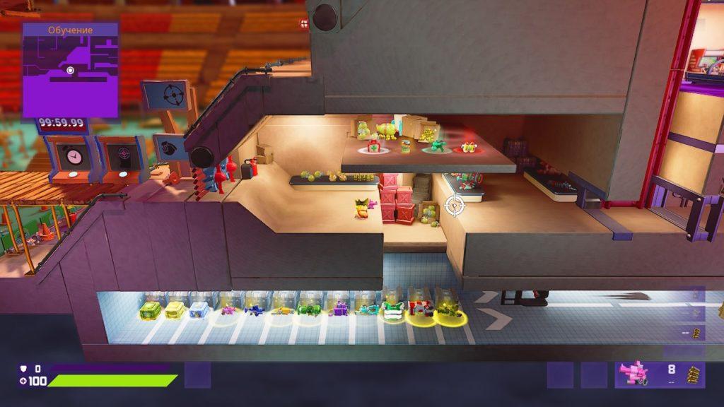 Обзор: Worms Rumble - И эти туда же 3