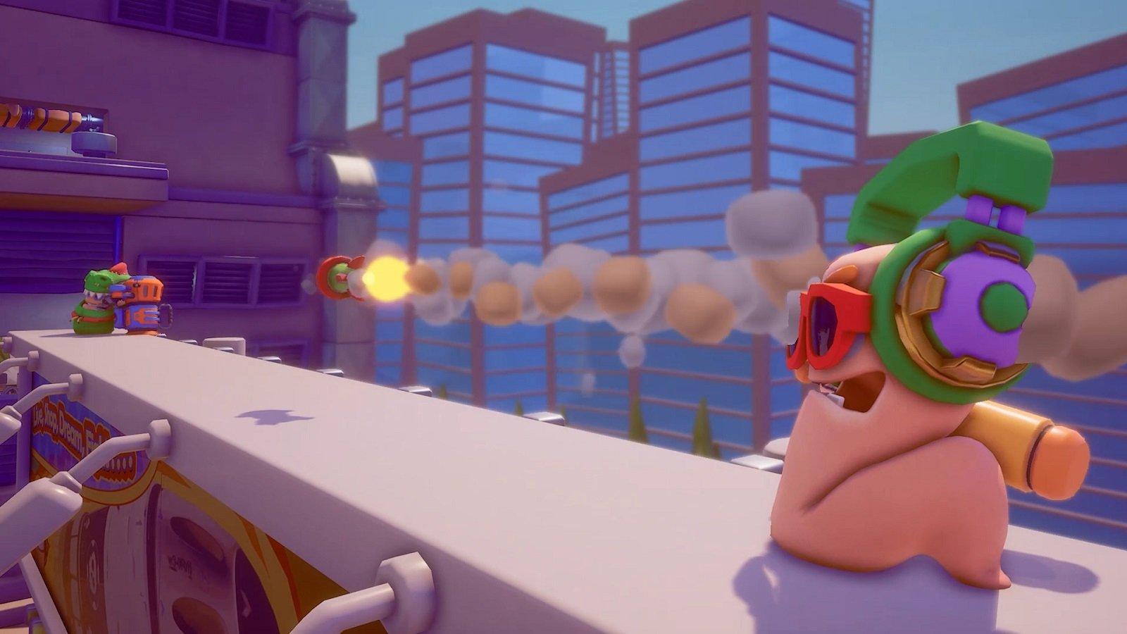 Обзор: Worms Rumble - И эти туда же 11