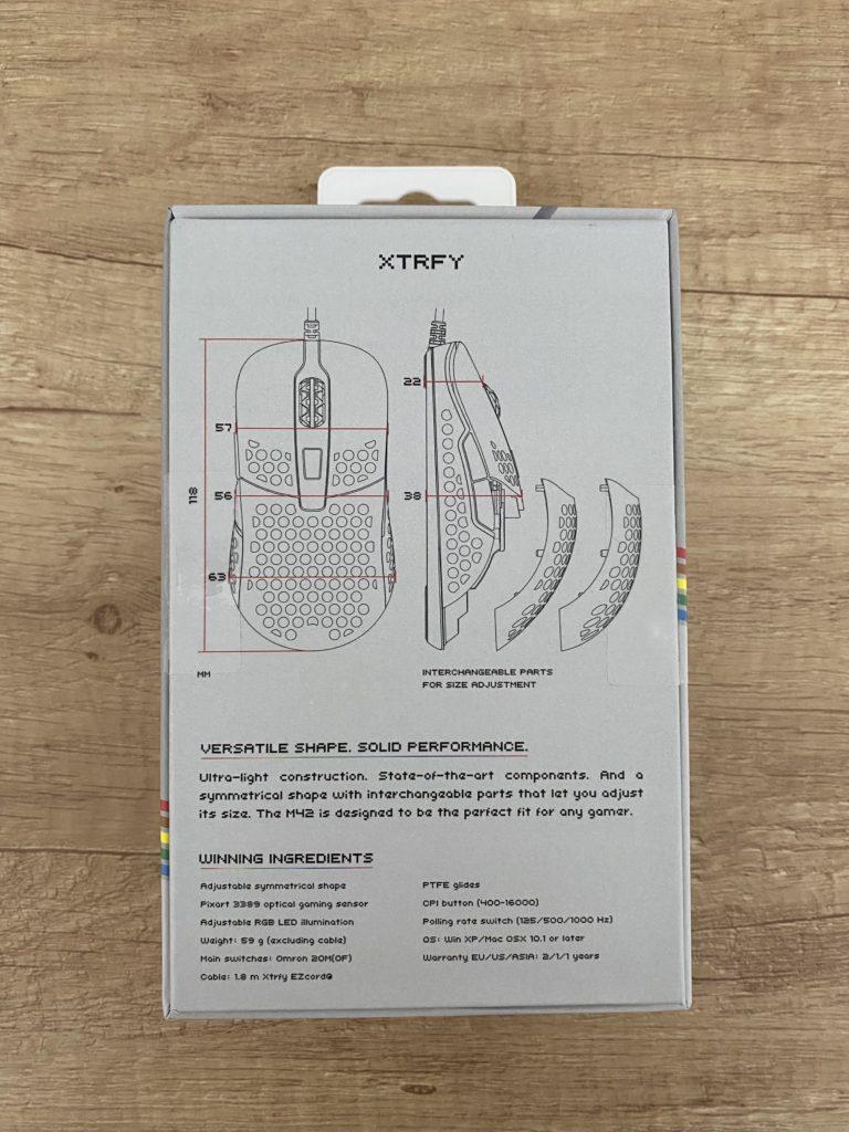 Обзор: Киберспортивная мышь Xtrfy M42 Retro Edition – Стрельба на поражение 3