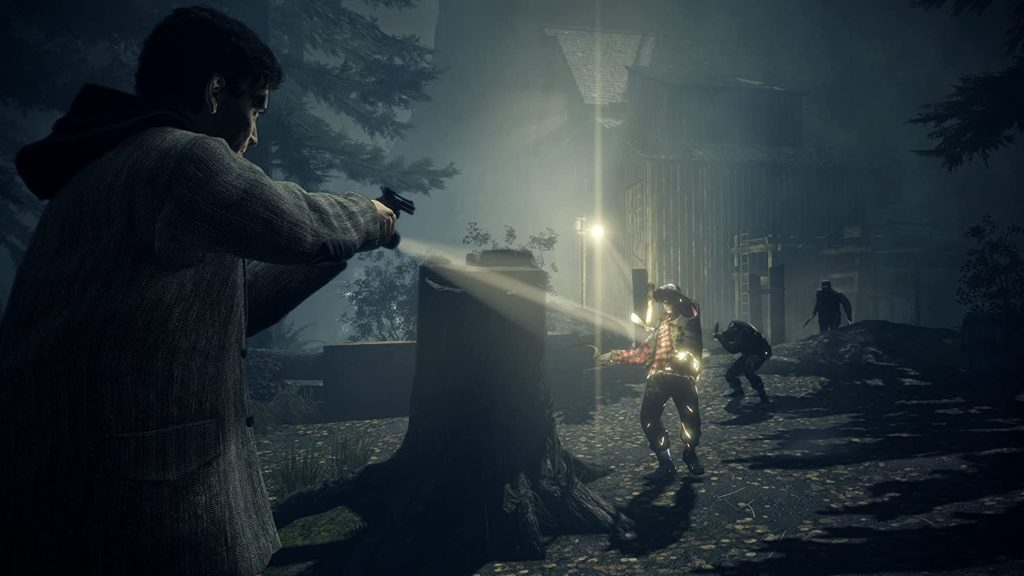 В сеть утекли первые скриншоты Alan Wake Remastered 2