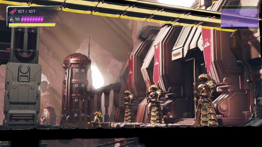 Локации и враги - новые подробности Metroid Dread 19