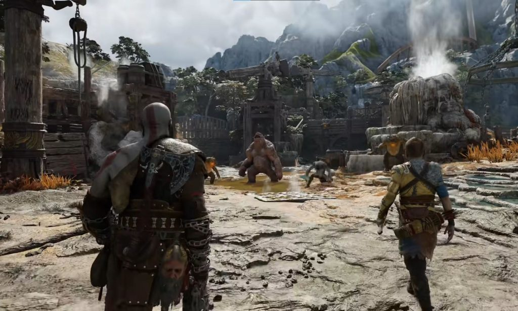 Персонажи, боевая система, история и музыка - всё, что известно о God of War: Ragnarok 19