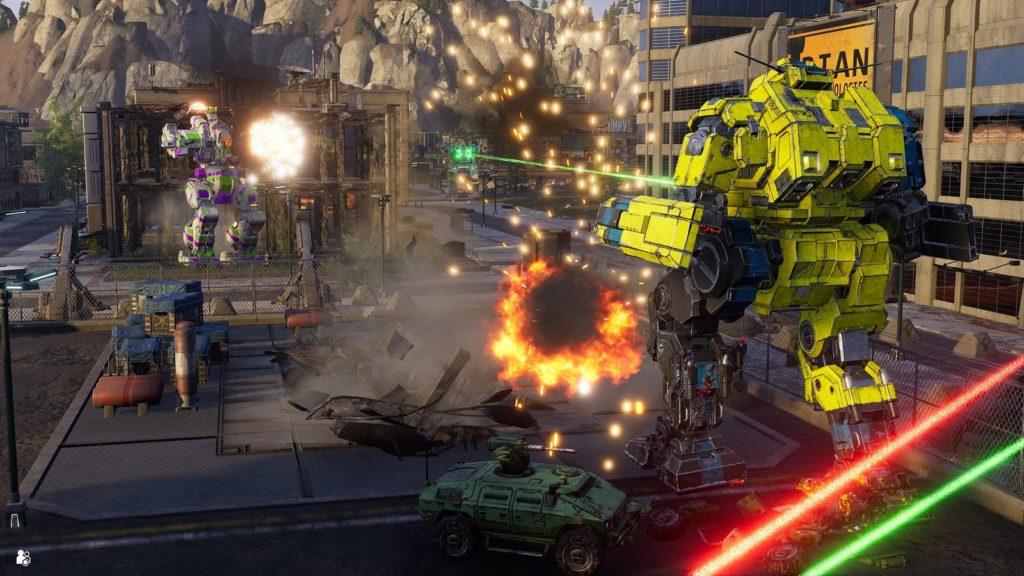 Серия MechWarrior возвращается на PlayStation с MechWarrior 5: Mercenaries 3