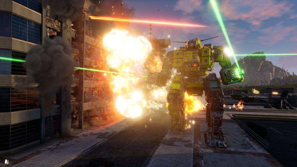Серия MechWarrior возвращается на PlayStation с MechWarrior 5: Mercenaries 1