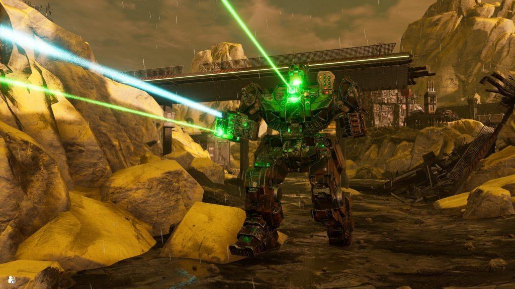 Серия MechWarrior возвращается на PlayStation с MechWarrior 5: Mercenaries 2