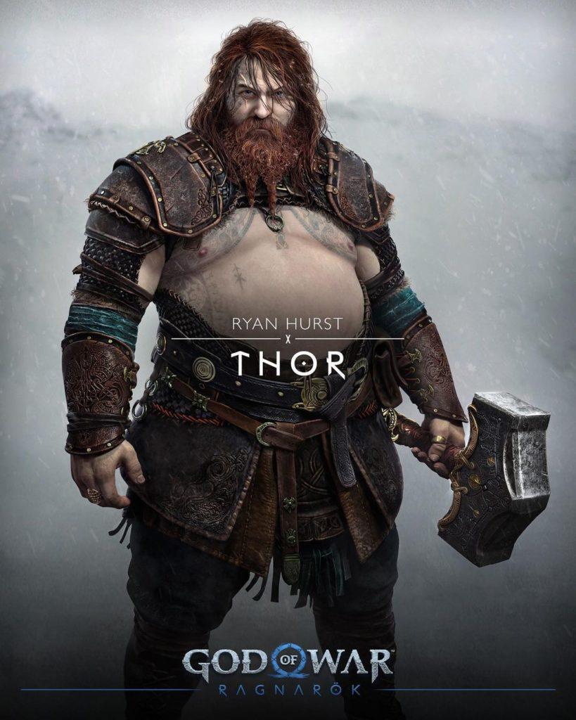 Персонажи, боевая система, история и музыка - всё, что известно о God of War: Ragnarok 11