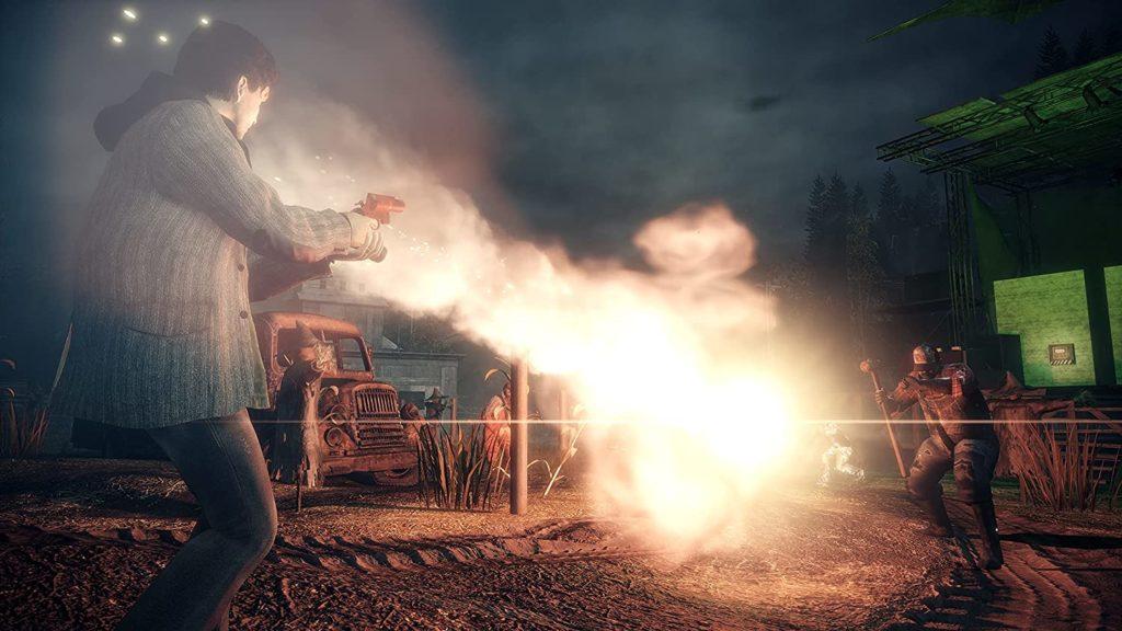 В сеть утекли первые скриншоты Alan Wake Remastered 12