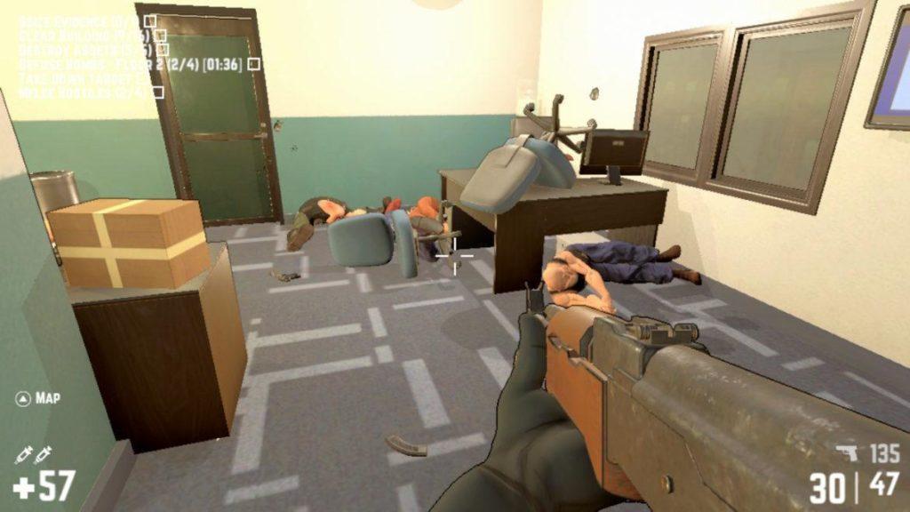 Обзор: RICO - Max Payne на самых минимальных минималках. 2