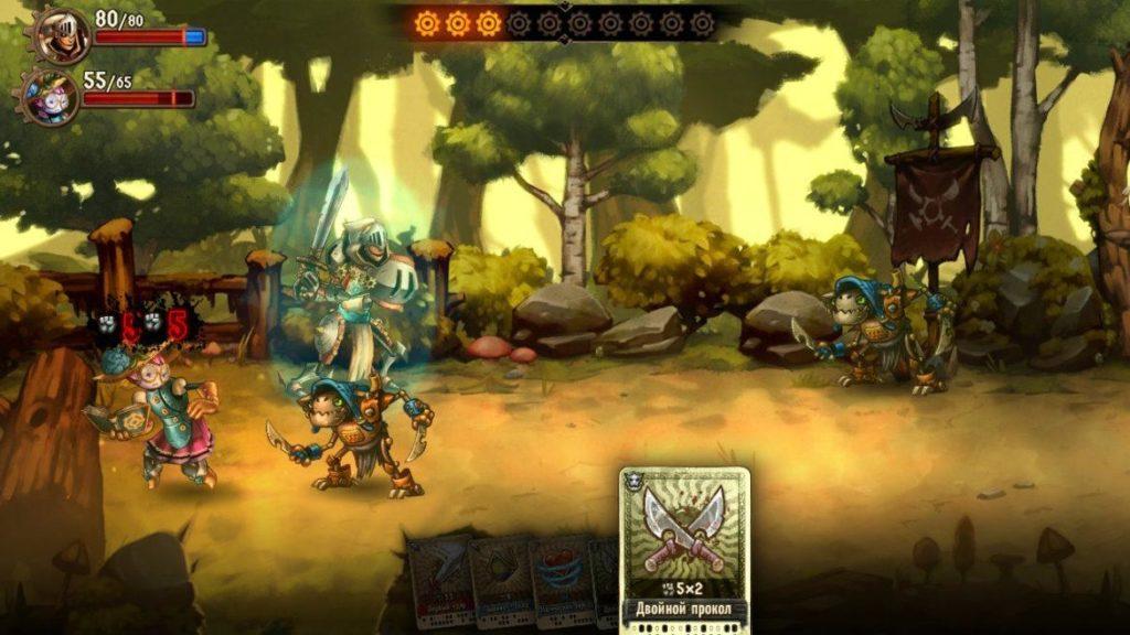 SteamWorld Quest - Средневековая механизация 5