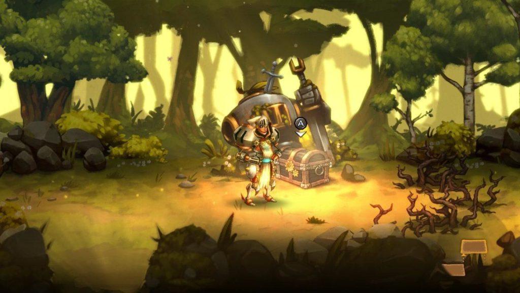 SteamWorld Quest - Средневековая механизация 31