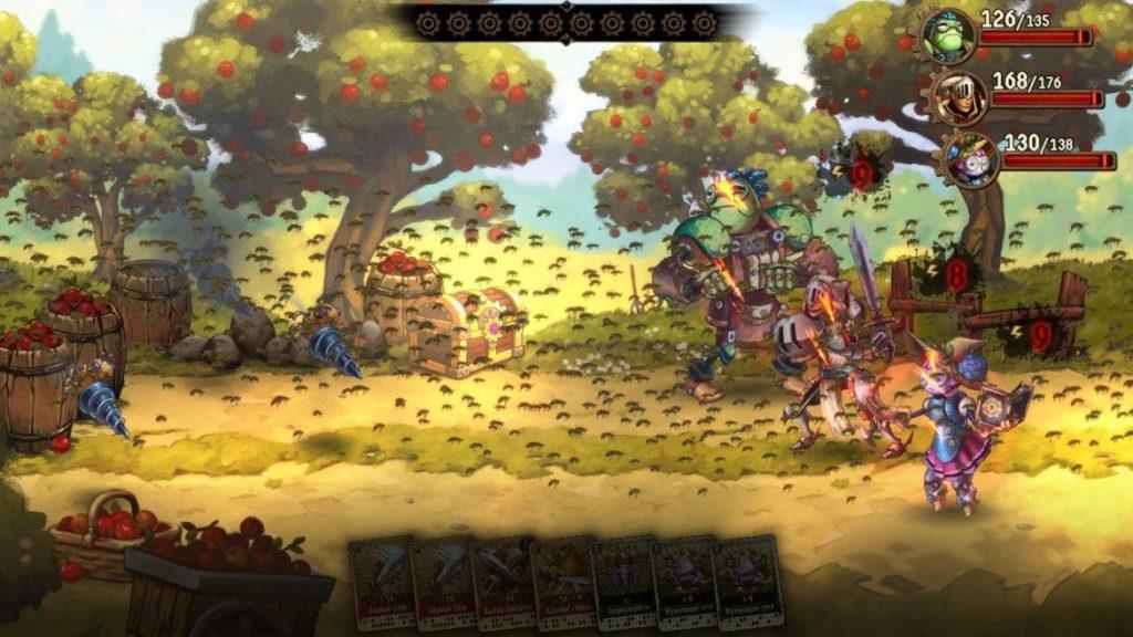 SteamWorld Quest - Средневековая механизация 9