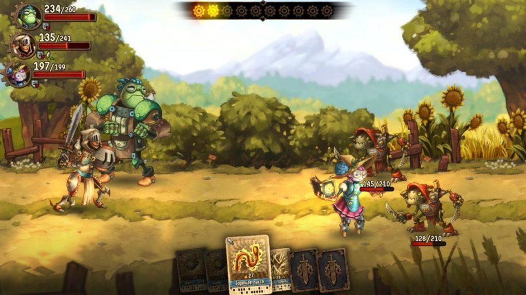 SteamWorld Quest - Средневековая механизация 24