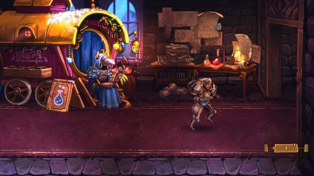 SteamWorld Quest - Средневековая механизация 34