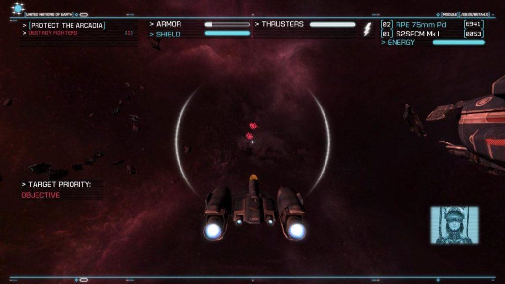 Обзор: Strike Suit Zero: Director's Cut - Тленное бытие космического вояки 7