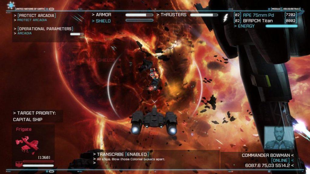 Обзор: Strike Suit Zero: Director's Cut - Тленное бытие космического вояки 31