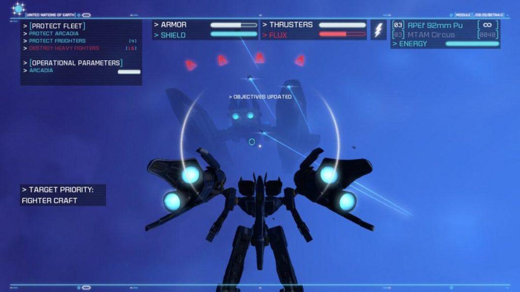 Обзор: Strike Suit Zero: Director's Cut - Тленное бытие космического вояки 12