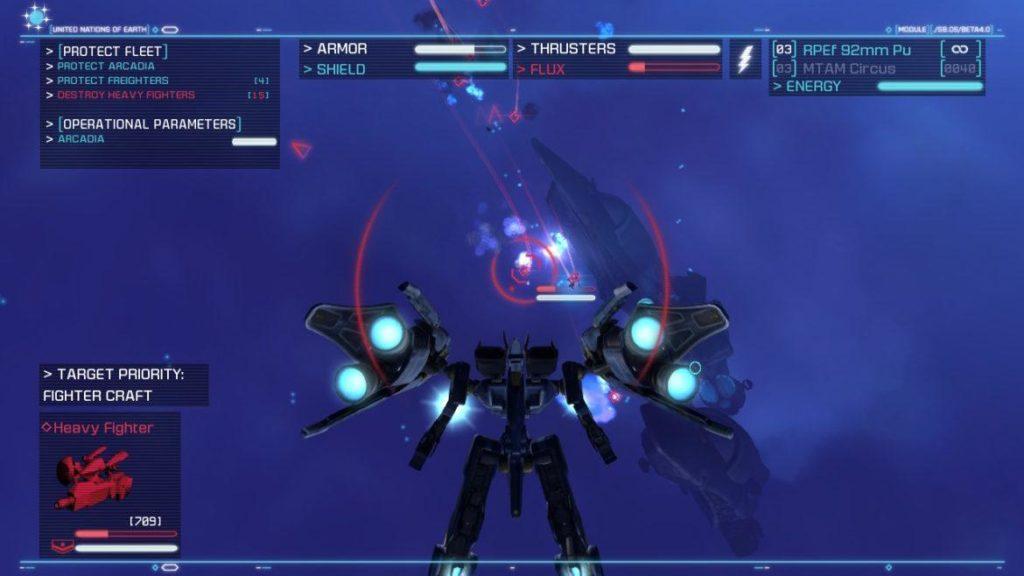 Обзор: Strike Suit Zero: Director's Cut - Тленное бытие космического вояки 13
