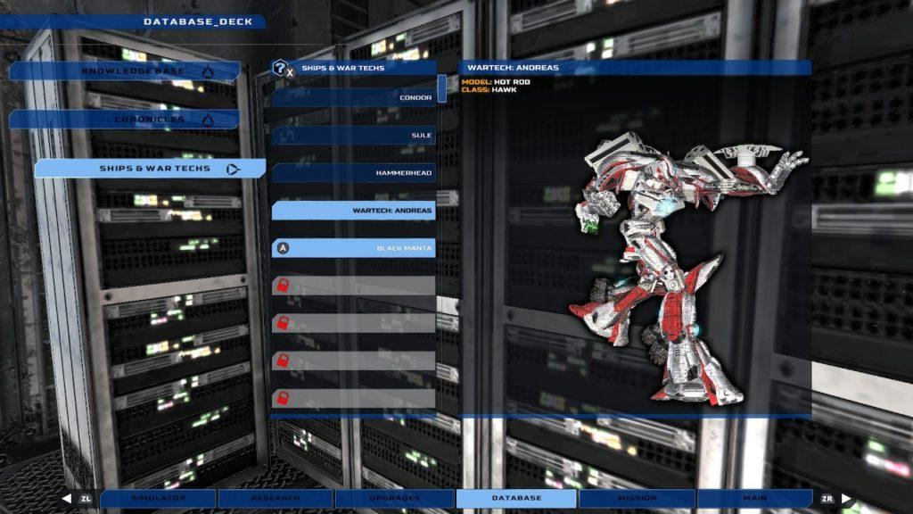 War Tech Fighters - Механическое откровение 7