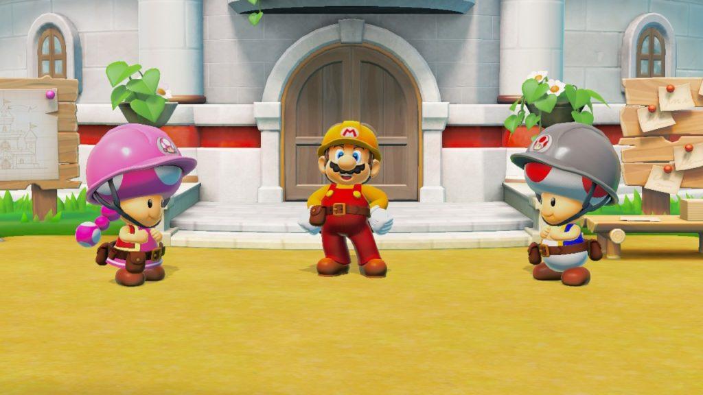 Super Mario Maker 2 - Раб, прораб и голубь 1