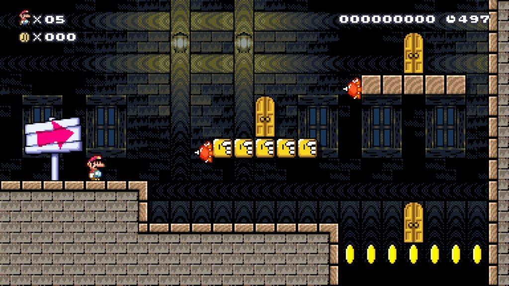 Super Mario Maker 2 - Раб, прораб и голубь 10