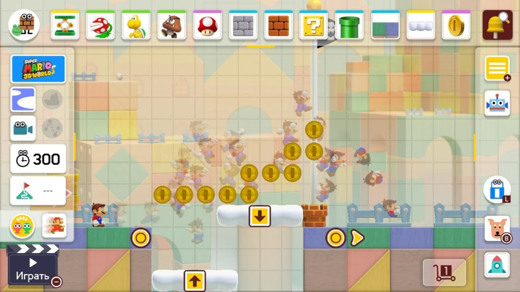 Super Mario Maker 2 - Раб, прораб и голубь 12