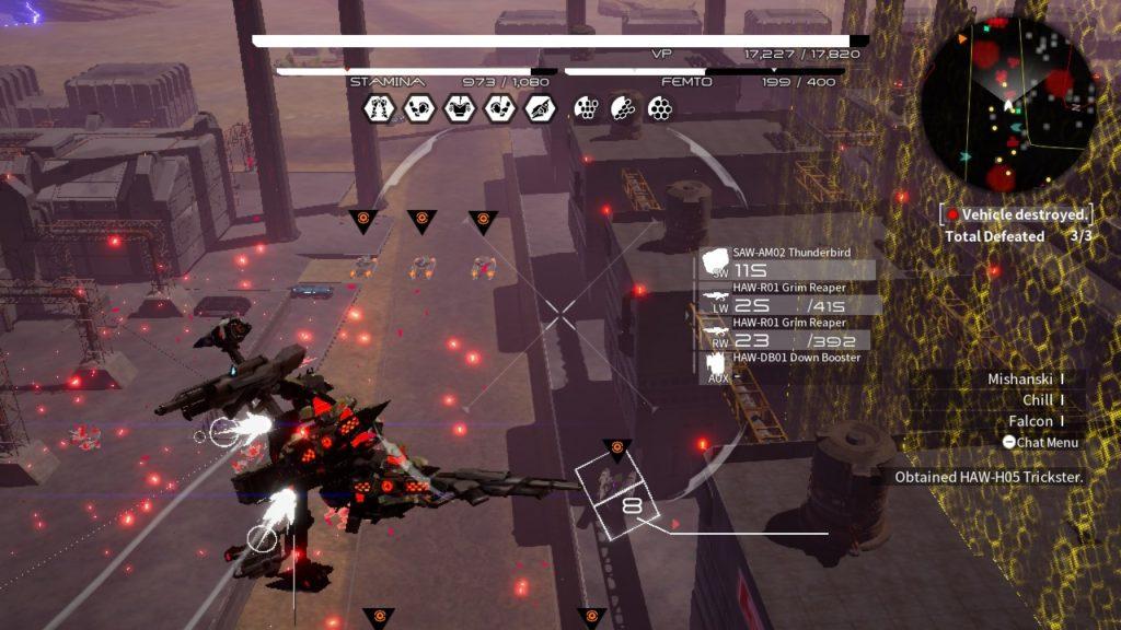 Обзор: Daemon X Machina - Цельнометаллические противоречия 5