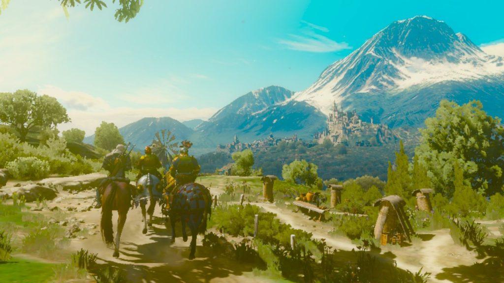 Ведьмак 3: Дикая Охота - Геральт из Ривии покоряет портатив 46