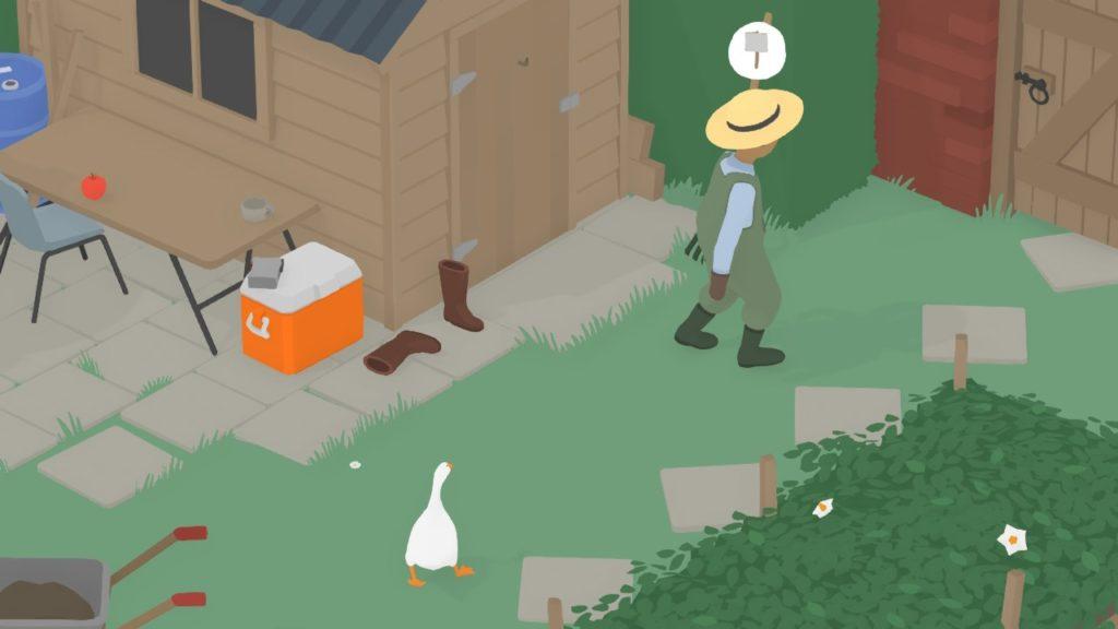 Untitled Goose Game - Домашний питомец Снейка 2