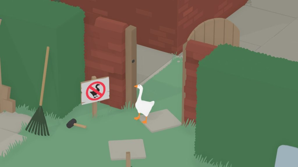 Untitled Goose Game - Домашний питомец Снейка 4