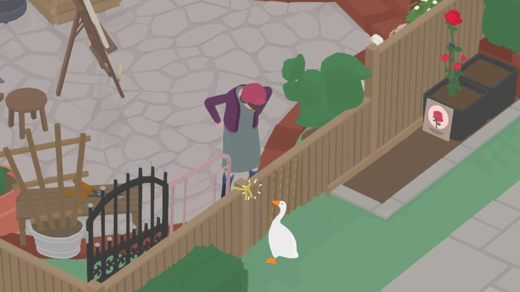 Untitled Goose Game - Домашний питомец Снейка 8