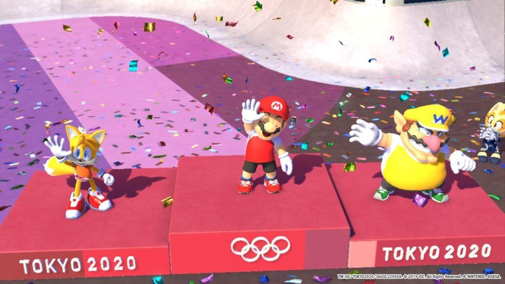 Обзор: Марио и Соник на Олимпийских играх 2020 в Токио – Фитнес для ленивых 6