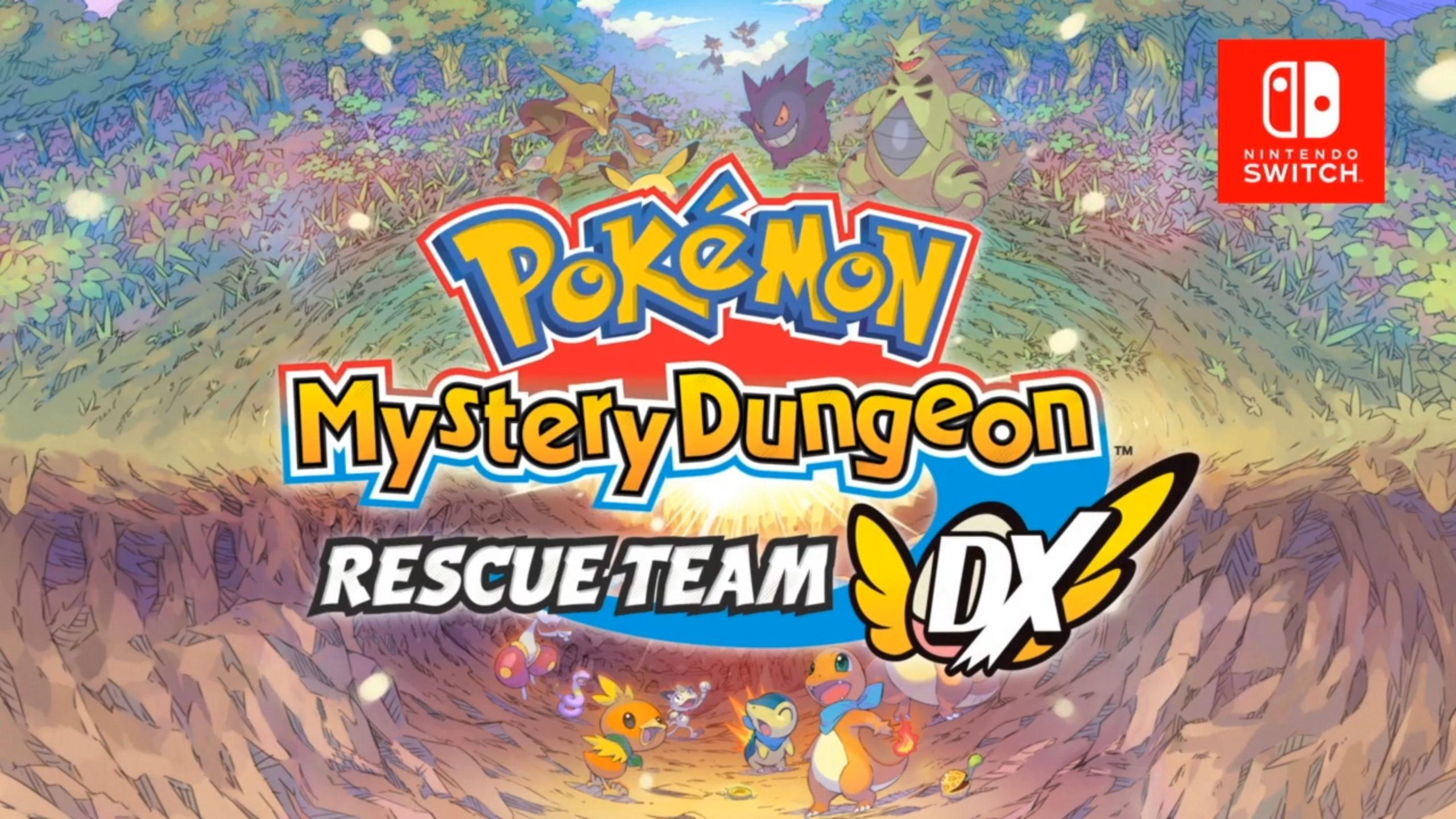 Размеры Switch игр – Pokemon Mystery Dungeon: Rescue Team DX, Puzzle & Dragons Gold, To the Moon и другие 98