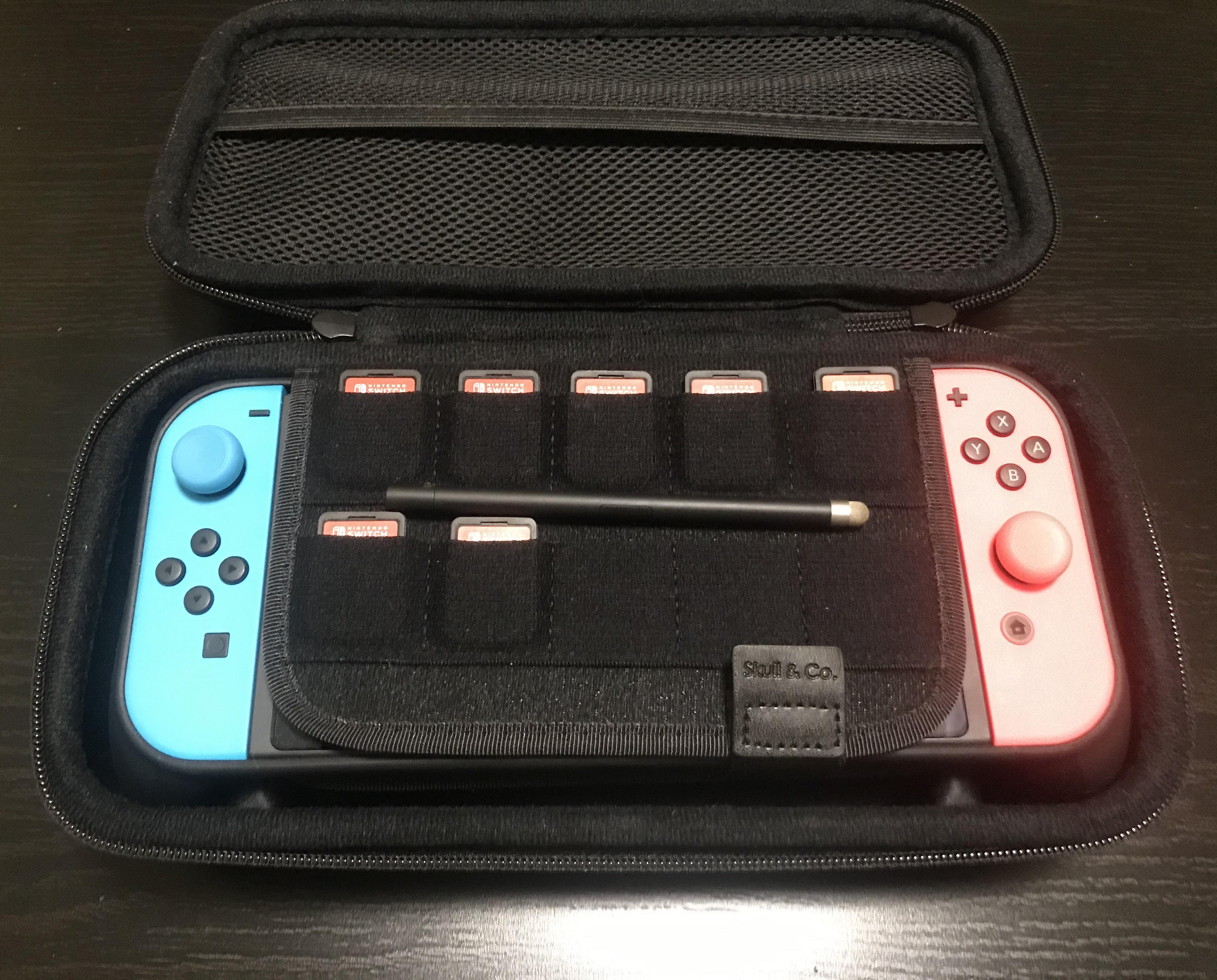 Обзор чехла для Nintendo Switch от Skull & Co 9