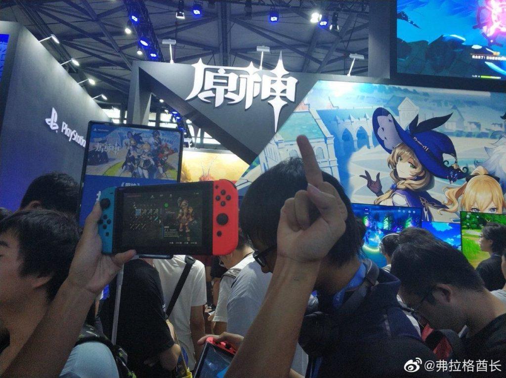 Провальный анонс Genshin Impact для Nintendo Switch в Китае 1