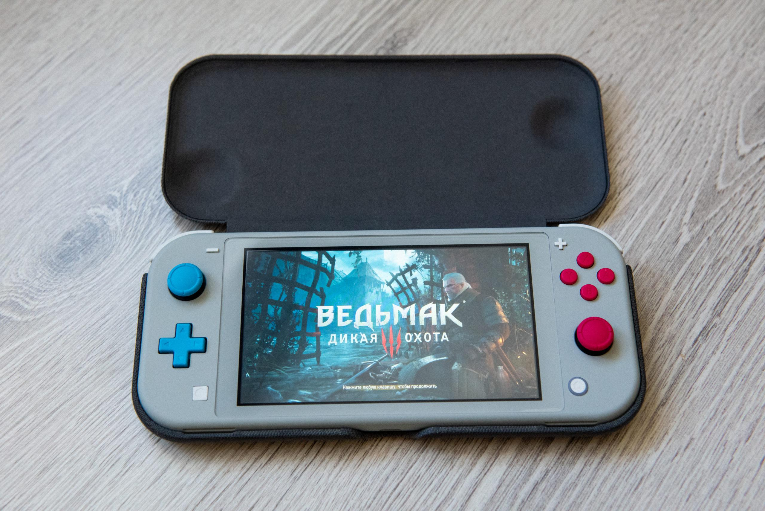 Обзор Nintendo Switch Lite - Жизнь после гибрида 19