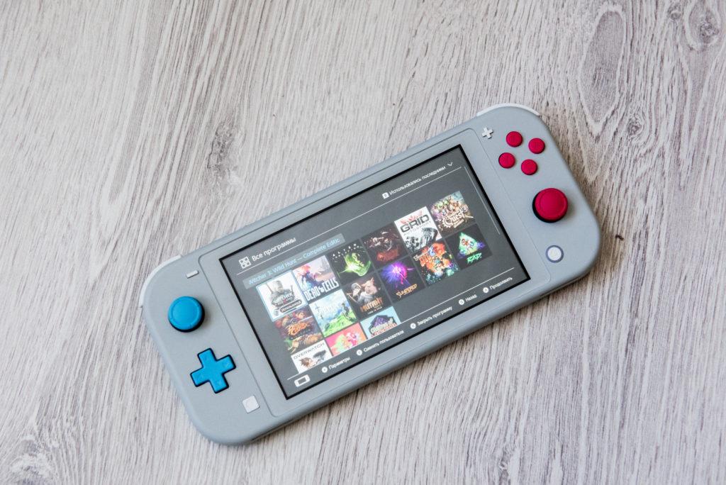 Обзор Nintendo Switch Lite - Жизнь после гибрида 5